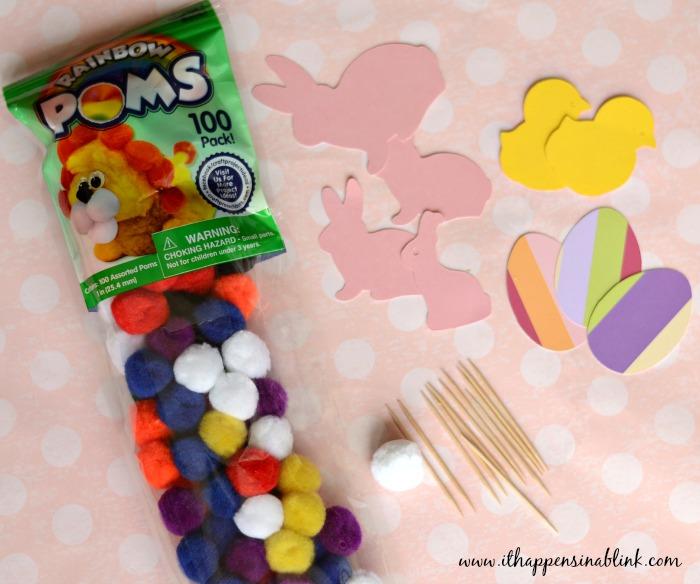 Easy Easter Cupcake Supplies