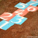 A DIY Outdoor Hopscotch