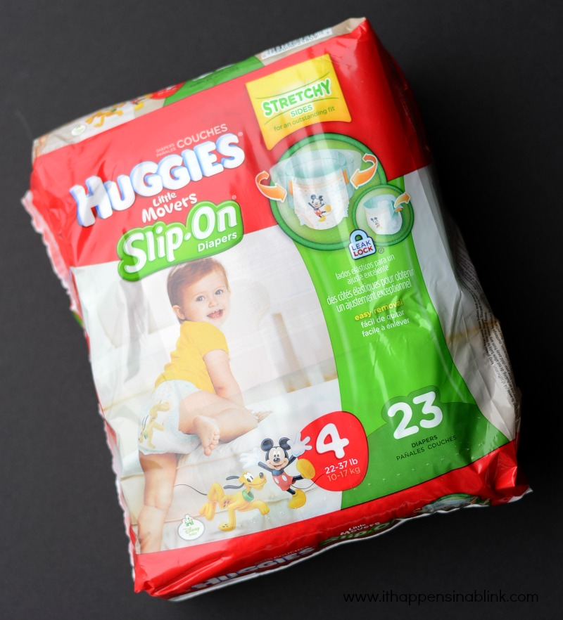 Huggies Little Movers Slip On Diapers Size 4