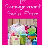Tips and Tricks for Consignment Sale Prep and My Healthy Home #shop