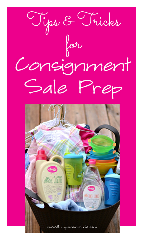Tips and Tricks for Consignment Sale Prep with #WalgreensOlogy #shop #CollectiveBias