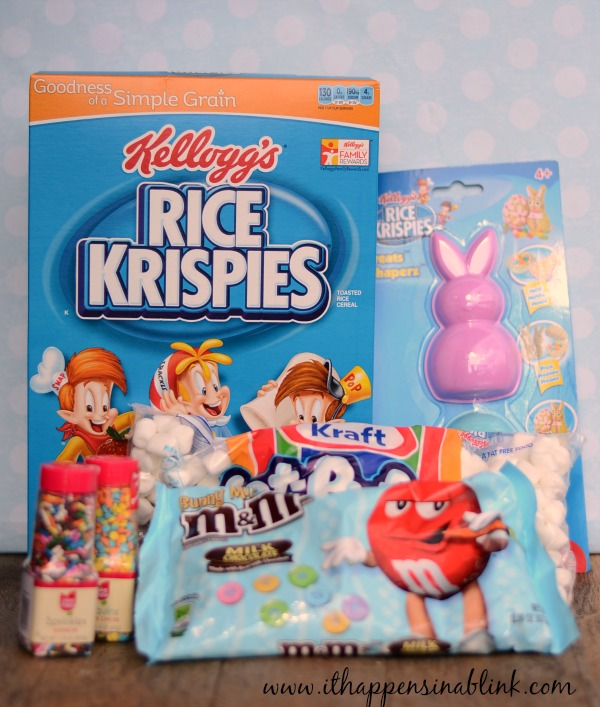 Rice Krispie Easter Egg Treat Ingredients