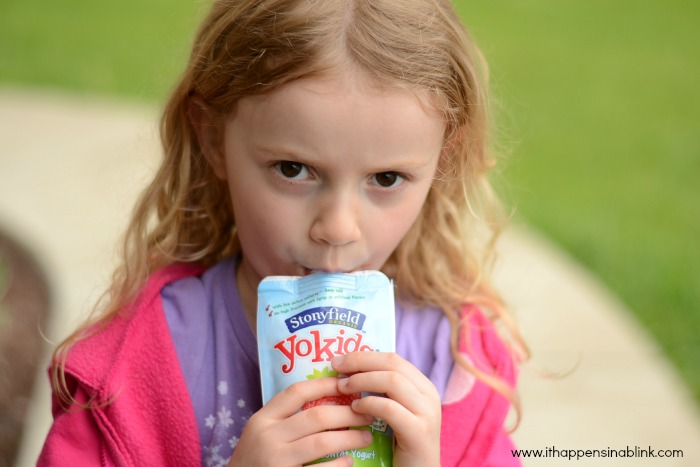 Yokids Strawberry Yogurt Pouch