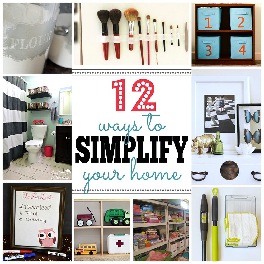 12 Ways to Simplify Your Home from It Happens in a Blink