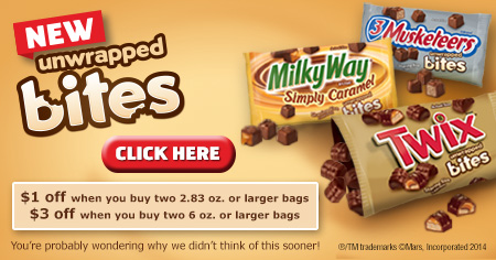 MARS Bites coupon #EatMoreBites #shop #cbias