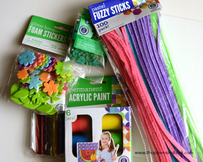 Kids' 3D Canvas Art Supplies from It Happens in a Blink