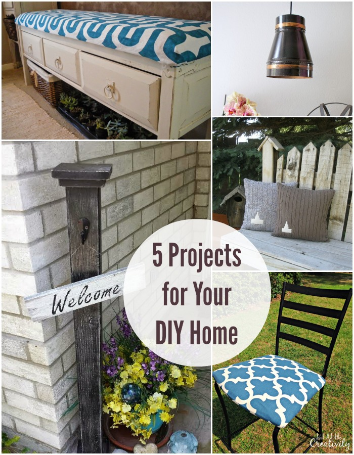 5 Projects for your DIY home