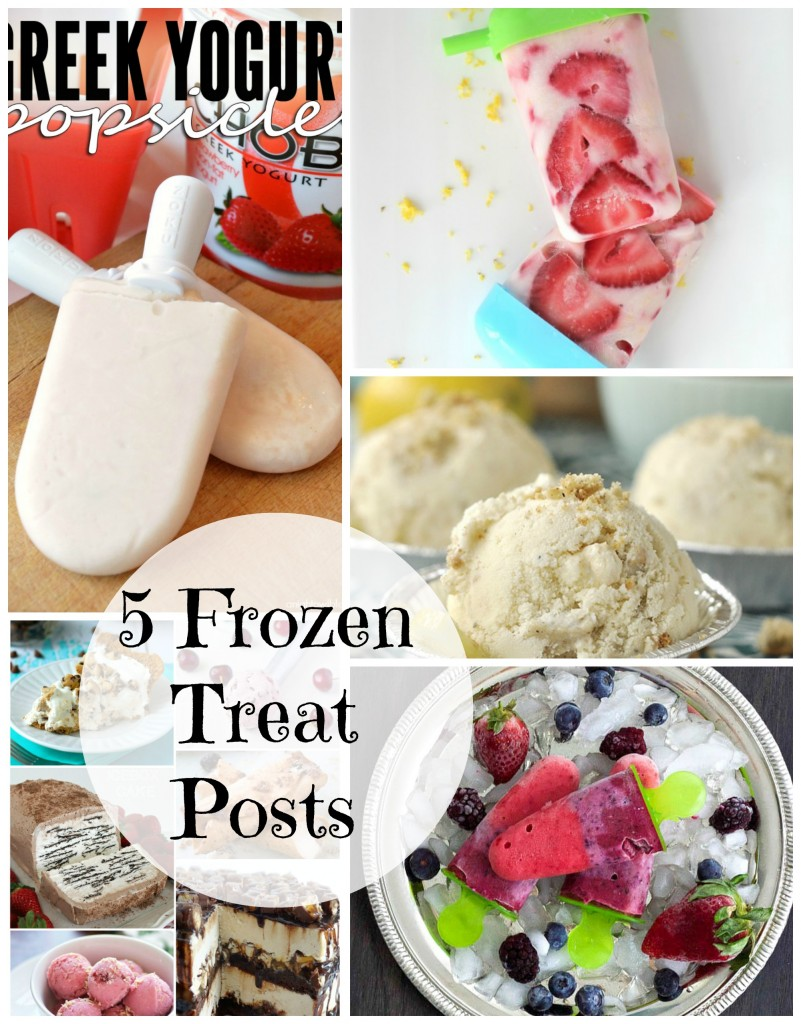 5 Frozen Treats for Summer