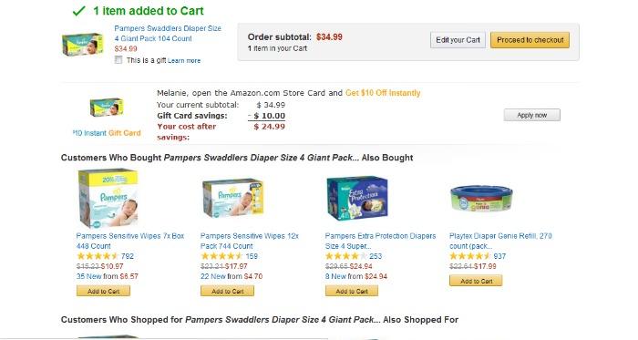 Amazon Order Confirmation #AmazonCart #cbias #shop