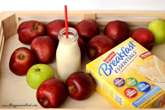 Apple Pie Smoothie Recipe with #BreakfastEssentials #ad #PMedia
