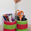 DIY Teacher Supply Caddy and Bing in the Classroom