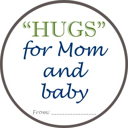 Huggies Gift Tag Printable for gifting diapers #MovingMoments #MC #sponsored