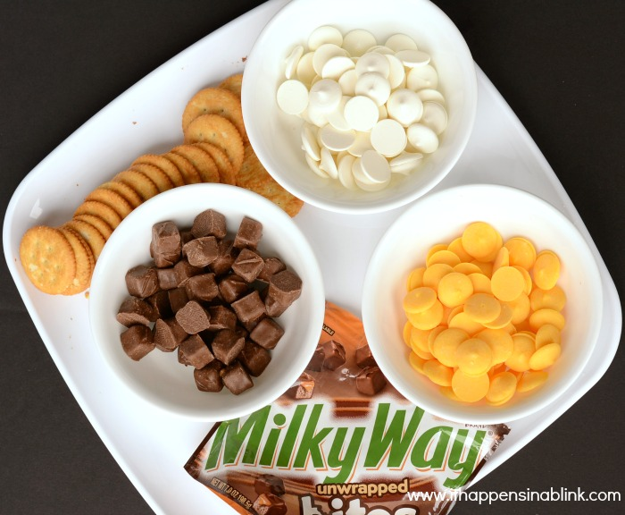 No Bake Milky Way Cookie Ingredients from It Happens in a Blink