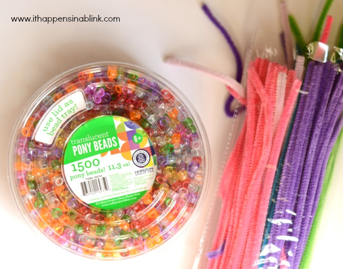 Pony Bead Fish supplies from It Happens in a Blink