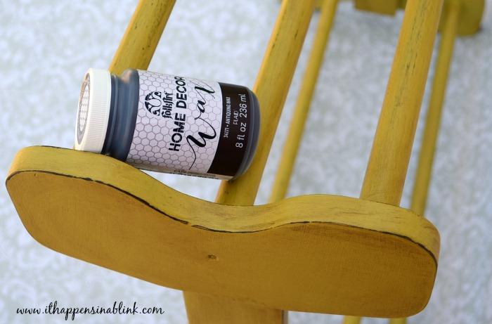 Quilt Rack Antique Wax #HomeDecorChalk