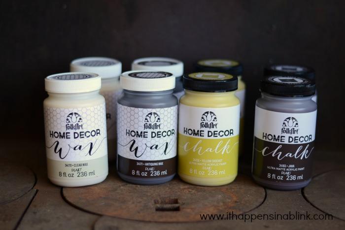 Quilt Rack supplies #HomeDecorChalk