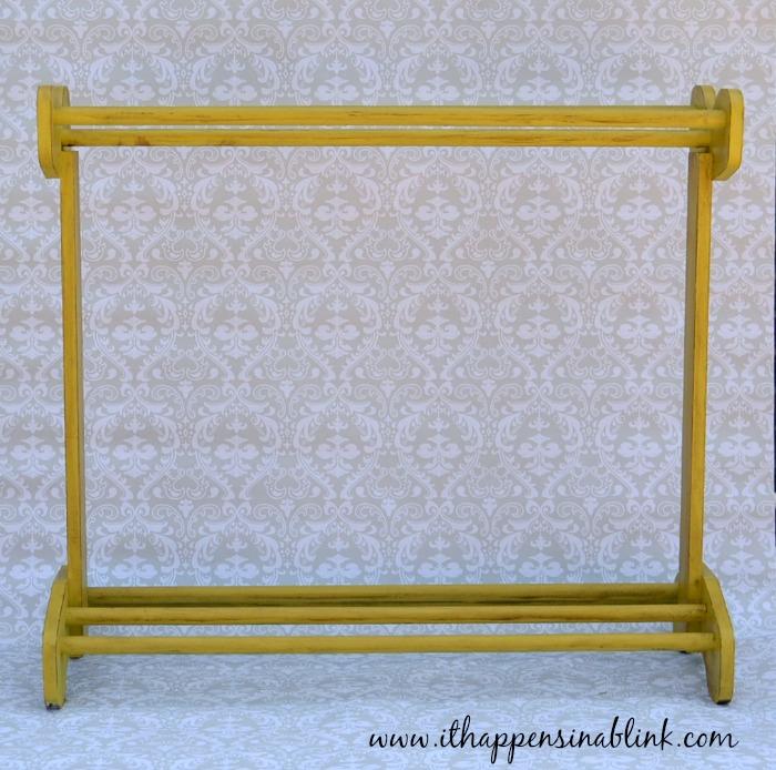 Quilt Rack #HomeDecorChalk