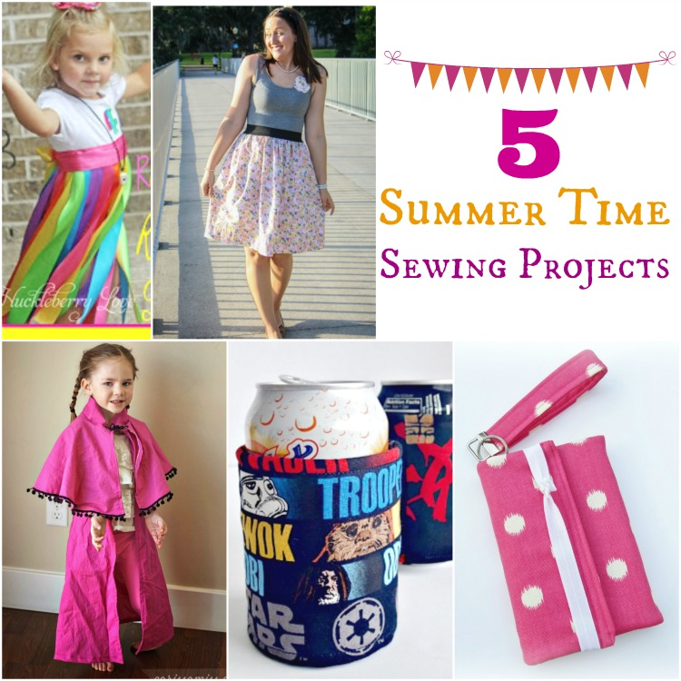 5 Summer Time Sewing Projects
