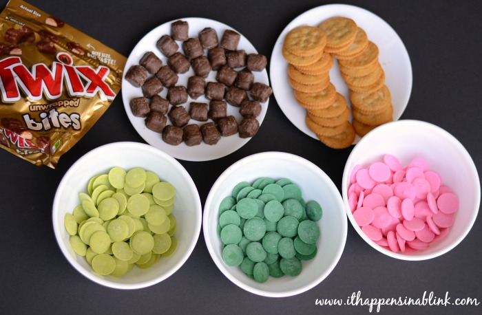No Bake Twix Cookies #EatMoreBites #shop #cbias