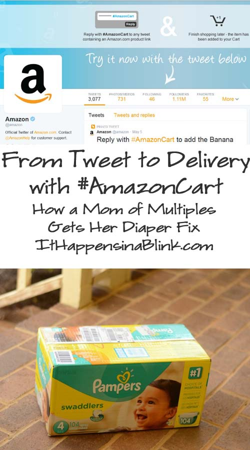 #AmazonCart #cbias From Tweet to Delivery #shop