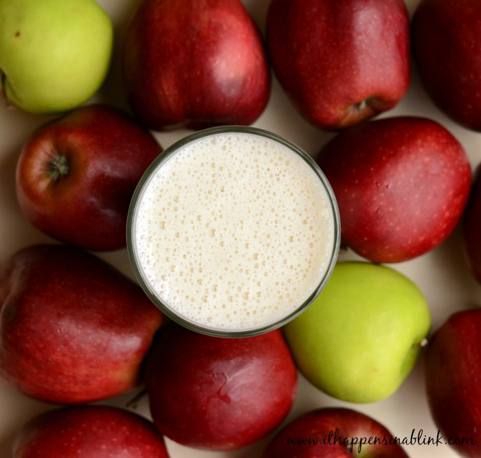 Apple Pie Smoothie #BreakfastEssentials #PMedia #ad