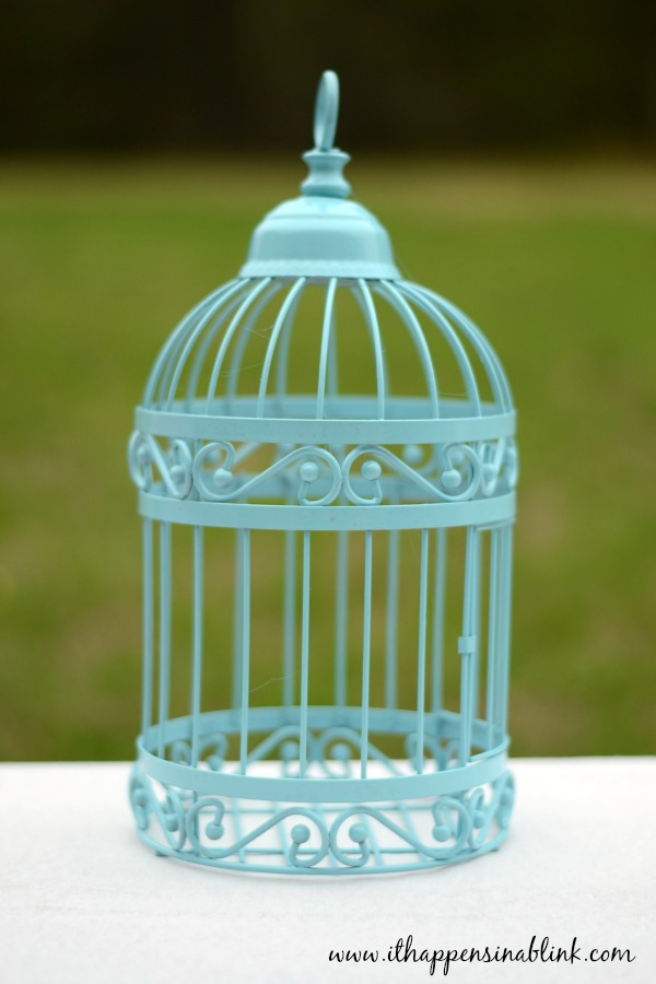 An Upcycled Birdcage