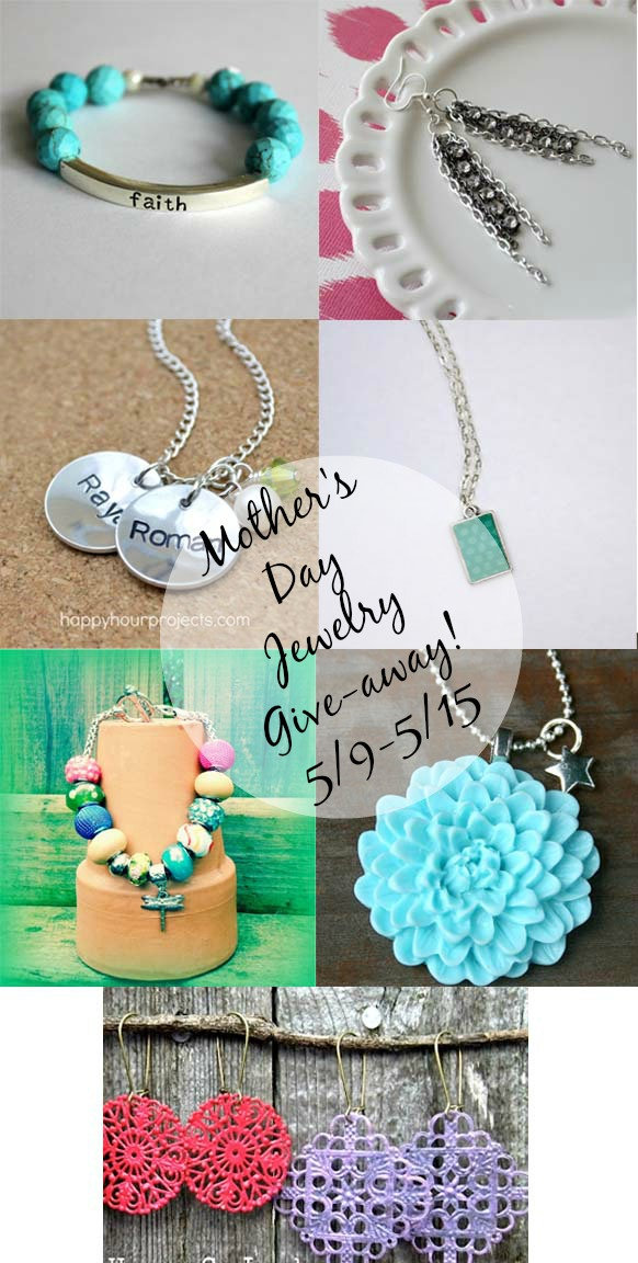 Mother's Day Jewelry Giveaway from It Happens in a Blink