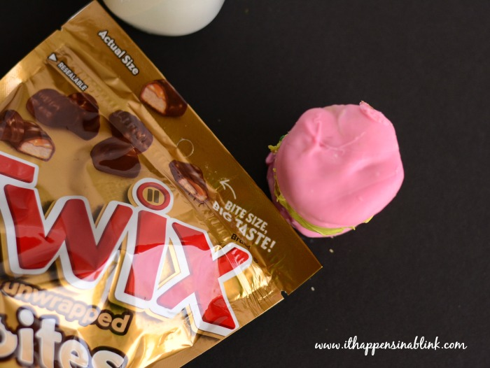 No Bake Twix Cookies #EatMoreBites #shop #cbias