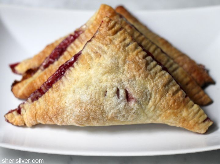 Raspberry Turnovers from Donuts, Dresses, and Dirt