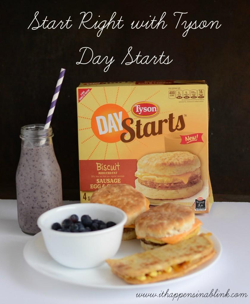 #ad  Quick Breakfast Ideas with #StartWithTyson #cbias #shop