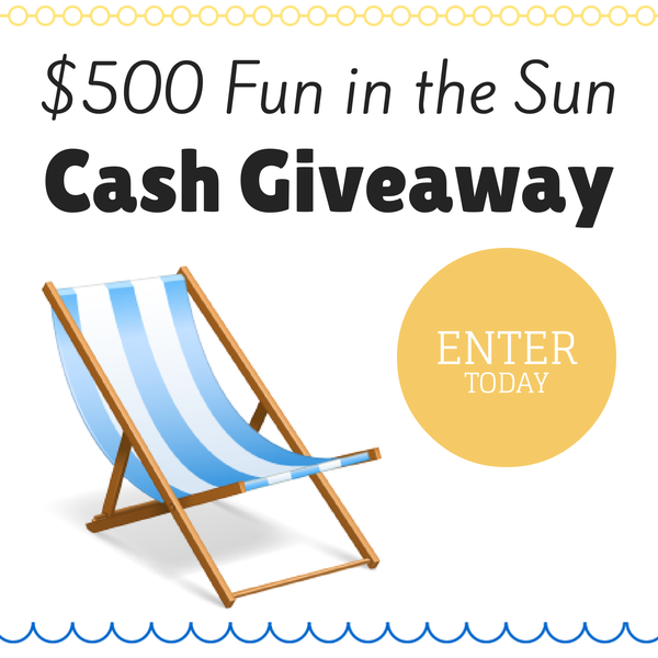 Fun Sun Cash Giveaway