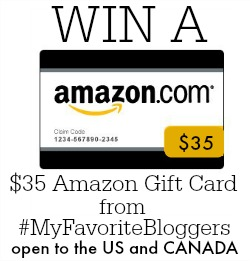Amazon Gift Card Giveaway from It Happens in a Blink