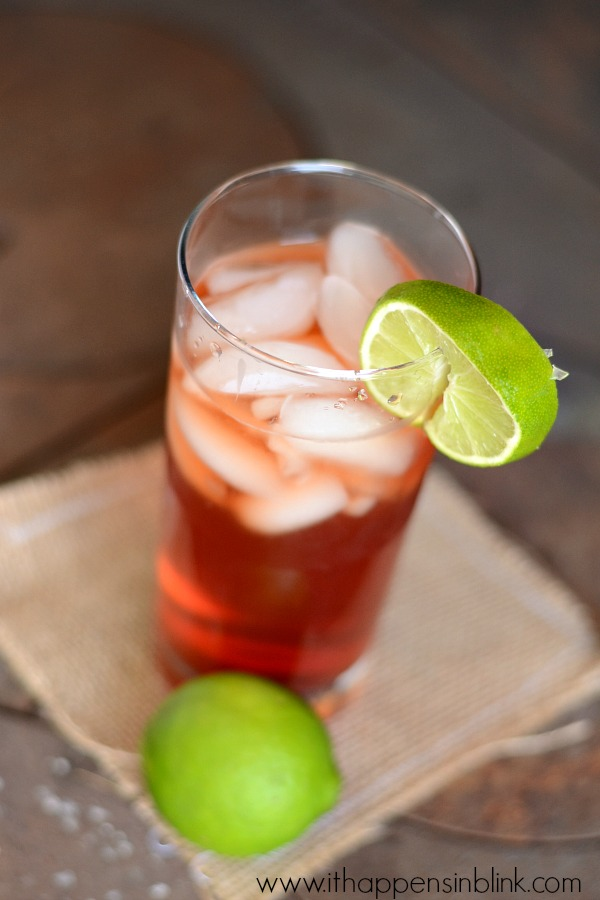 Raspberry Lime Sweet Tea from It Happens in  a Blink #TEArifficPairs #shop #cbias