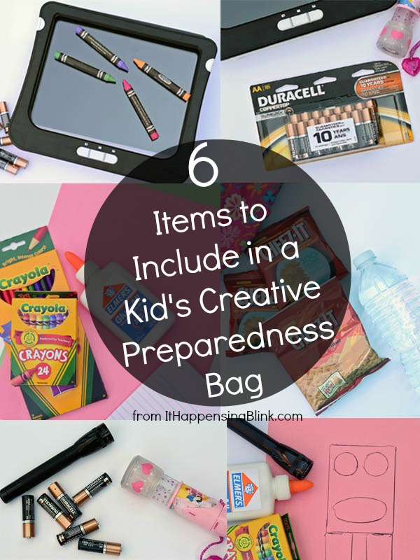 6 Items to Include in a Kid's Creative Preparedness Bag #PrepWithPower #cbias #shop