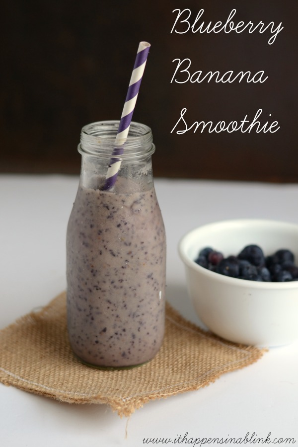 #ad Blueberry Banana Smoothie #StartWithTyson #shop #cbias