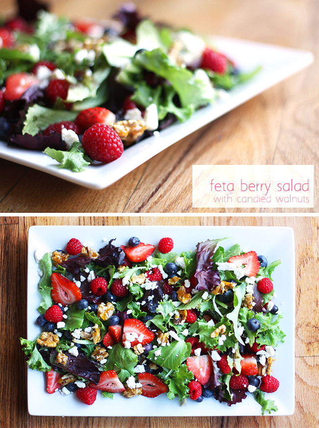 Feta Berry Salad from Homemade Toast