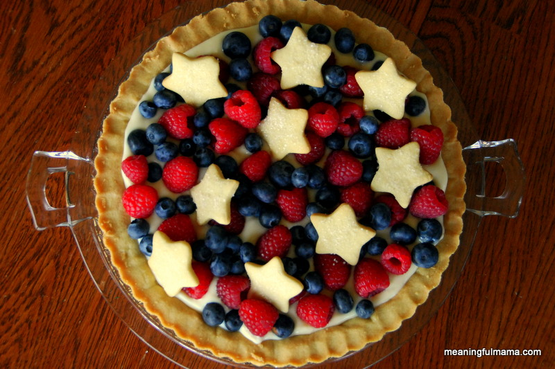 Sugar Cookie Tart from Meaningful Mama