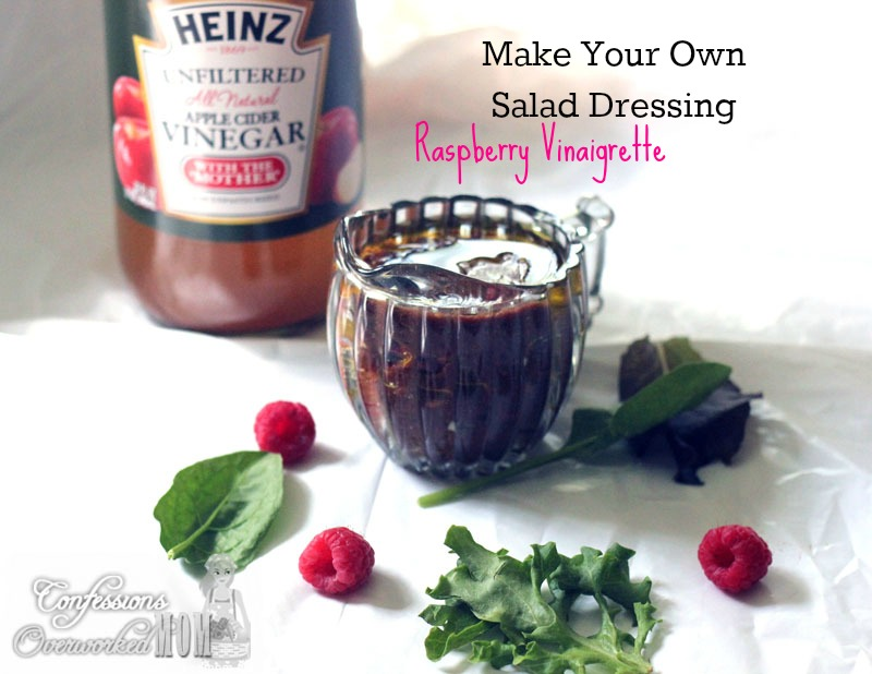 Raspberry Vinaigrette from Confessions of an Overworked Mom