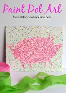 Paint Dot Art from It Happens in a Blink