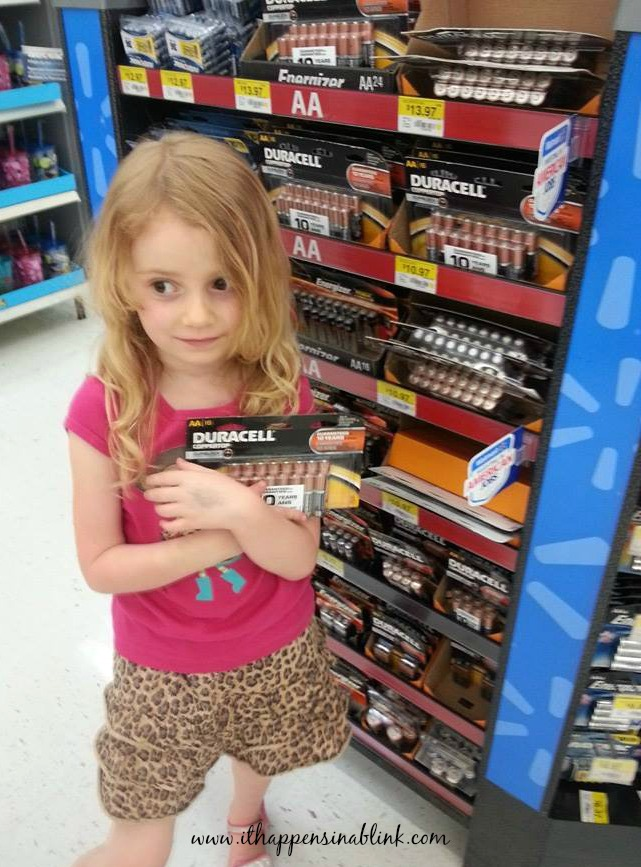 Duracell battery display #PrepWithPower #shop #cbias