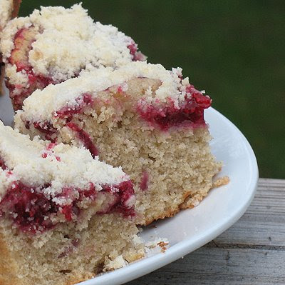 Raspberry Coffee Cake from Amanda's Cookin'