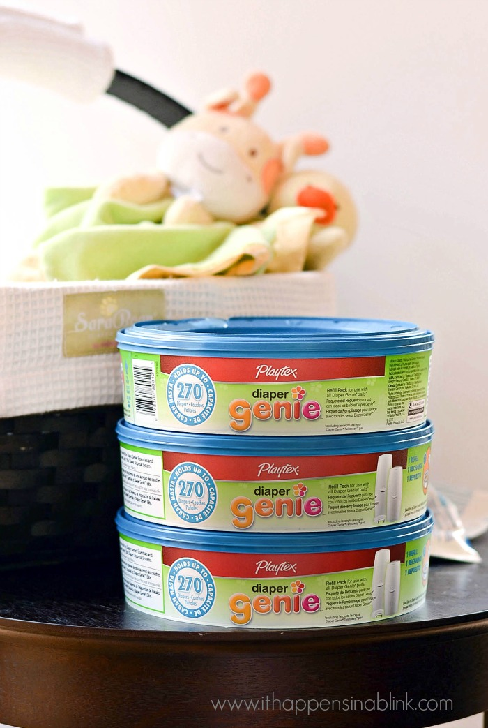 Diaper Genie Refills from ItHappensinaBlink.com #RefreshYourNursery #PMedia #ad