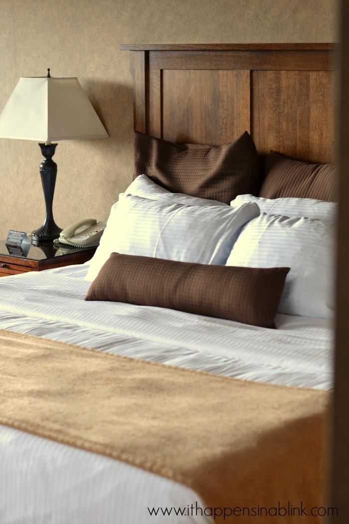 Grove Park Inn bed