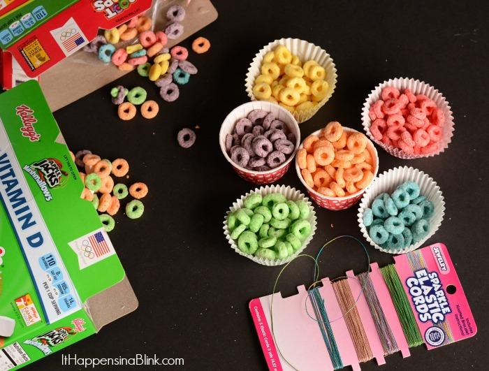 DIY Cereal Jewelry #GoodNightSnack #shop #cbias