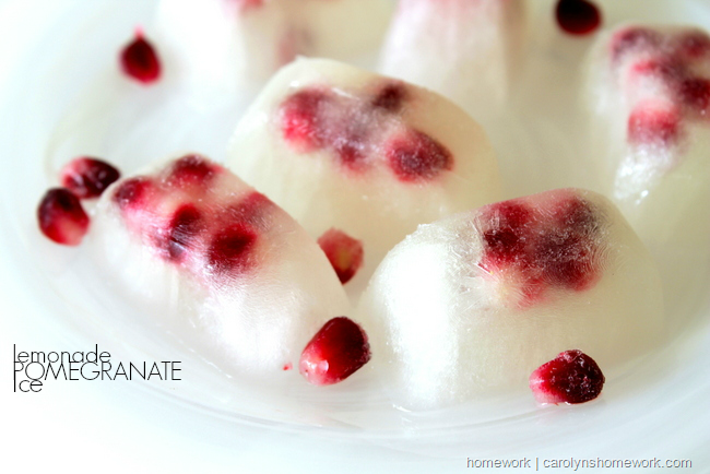 Pomegranate Lemonade Ice via homework  carolynshomework (5)[10]