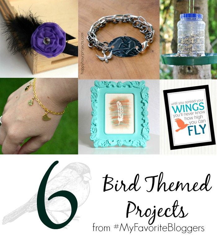6 Bird Themed Projects from ItHappensinaBlink.com