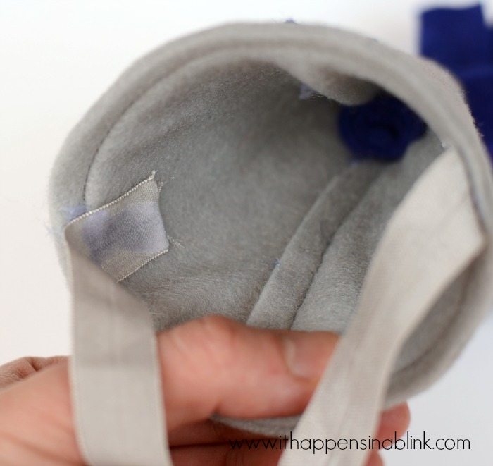 DIY Felt First Birthday Hat from ItHappensinaBlink.com