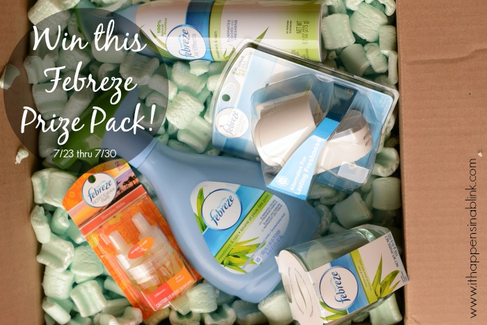 Febreze Prize Pack giveaway