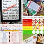 5 Back to School Printables and The Project Stash