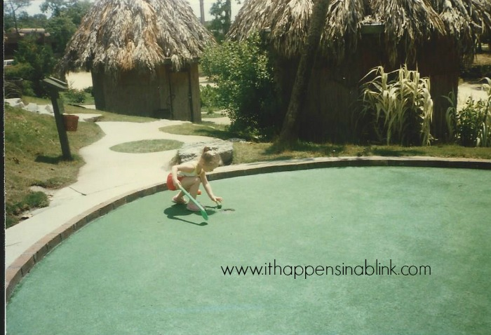 Miniature Golf in the 80's  |  ItHappensinaBlink.com